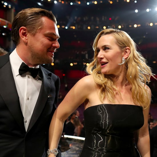 Kate Winslet Quotes About Leonardo DiCaprio in Glamour 2017