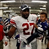 Brandon Jacobs and Quinn Caleb