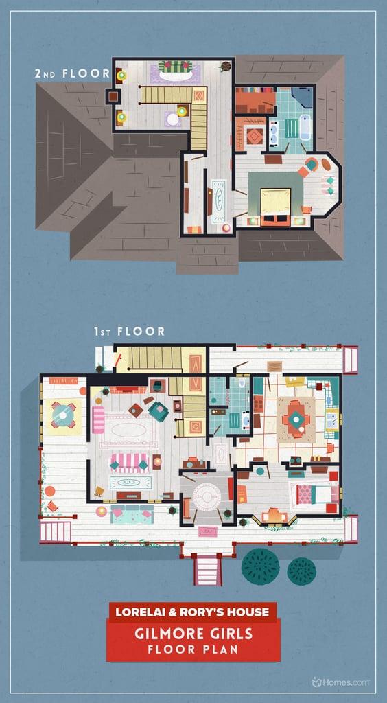 gilmore girls stranger things house popsugar home photo 2. Black Bedroom Furniture Sets. Home Design Ideas