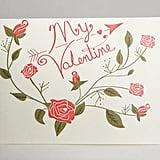 Vintage Valentine's Card Printable