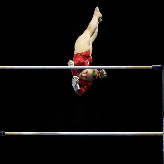 Watch Gymnast Jade Carey's Point of View While Swinging Bars