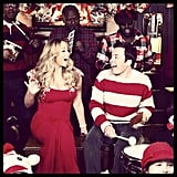 Jimmy Fallon recorded a holiday duet with Mariah Carey. Source: Instagram user jimmyfallon