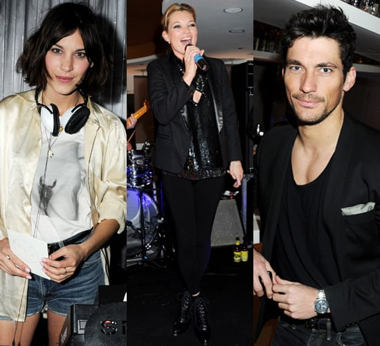 Pictures of Kate Moss and Alexa Chung Party for W Hotels