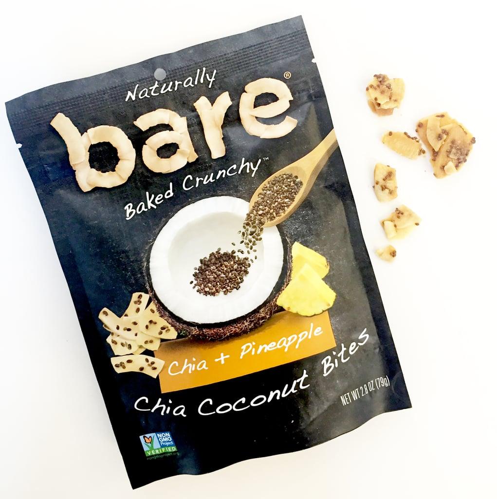 Bare Chia Coconut Bites in Chia + Pineapple