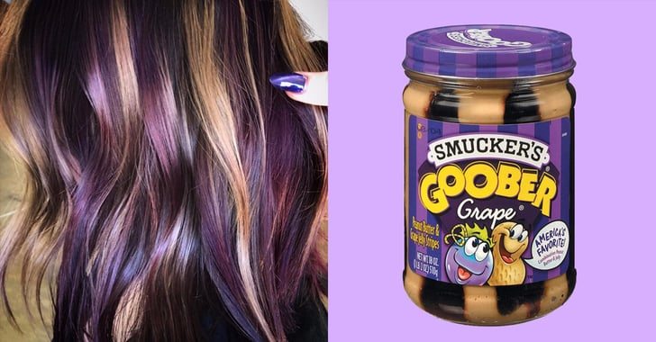 Peanut Butter and Jelly Hair Color Trend | POPSUGAR Beauty