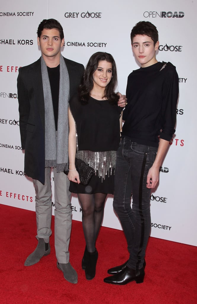 Peter Brant Jr. and Harry Brant walked the red carpet.