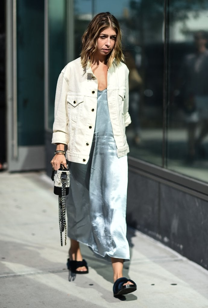 Swap Your Your Old Jean Jacket For a Modern White Version