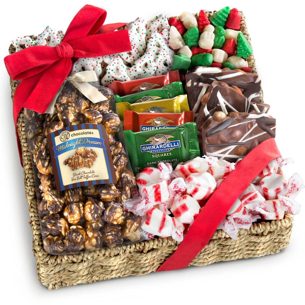 Holiday Classic Chocolate, Candy & Crunch Gift Basket