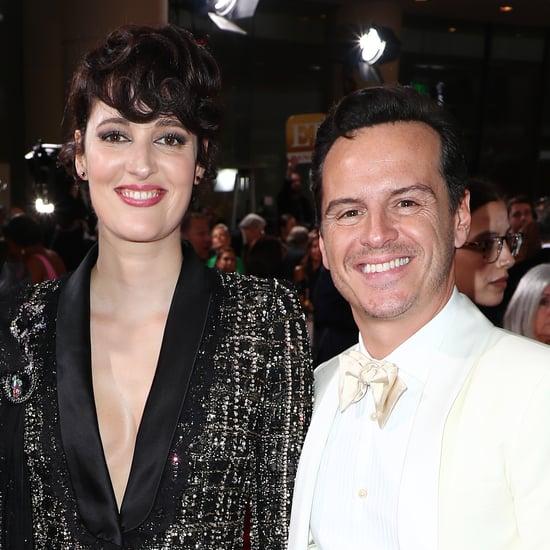 Phoebe Waller-Bridge and Andrew Scott at the Golden Globes
