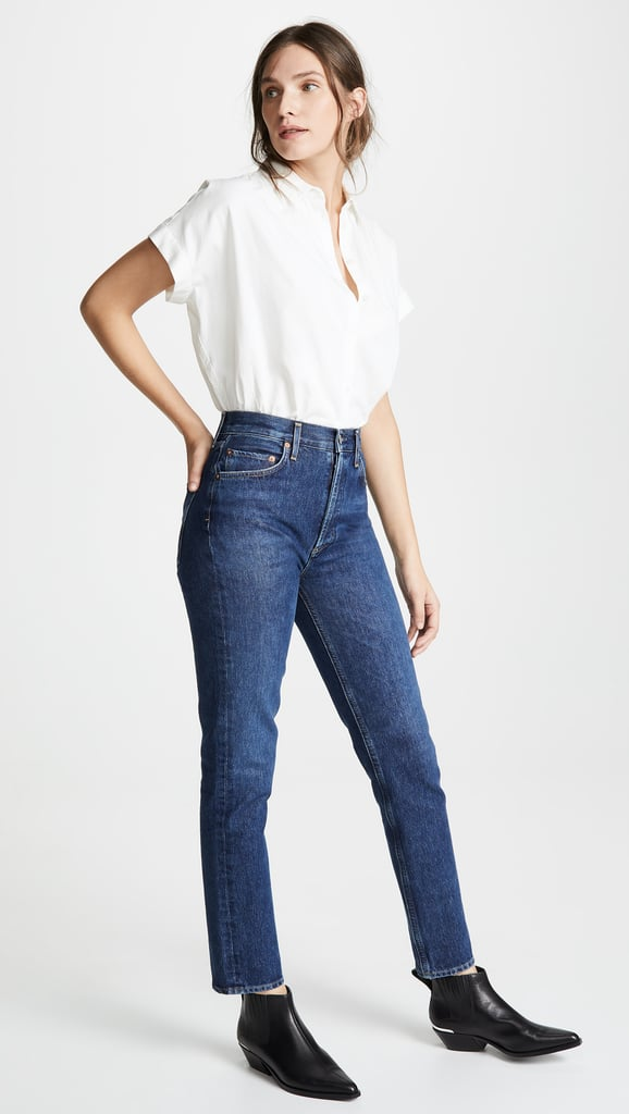 Agolde Remy High-Rise Straight Jeans