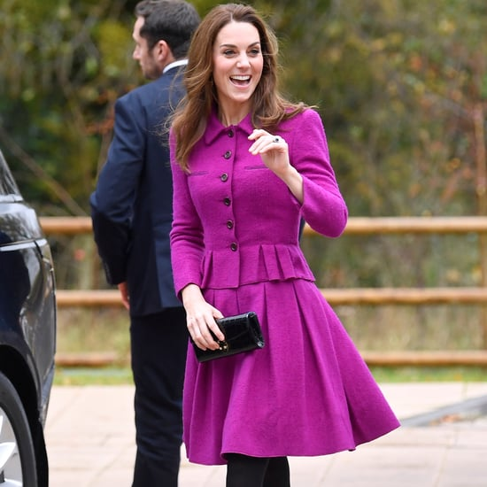 Kate Middleton's Magenta Oscar de la Renta Skirt Suit