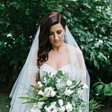 This Real Bride Emulated Olivia Palermo For Her Wedding Day