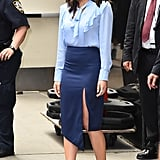 Olivia's Powder Blue Pumps