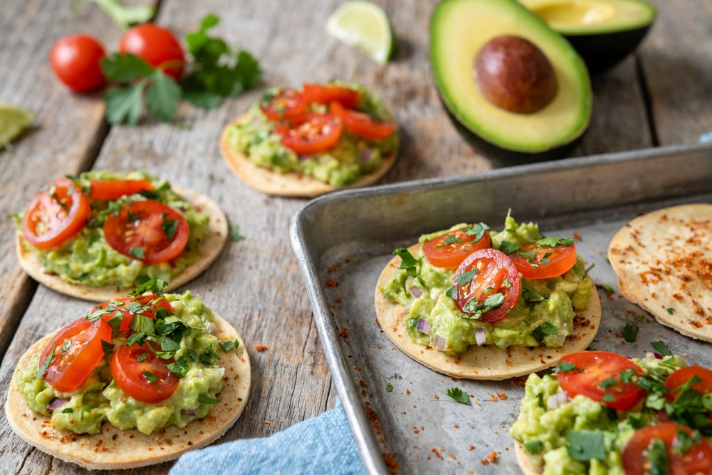 Lime-Spiced Mini Tostada With Guacamole Topper