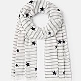 Joules Corin Flocked Star Scarf