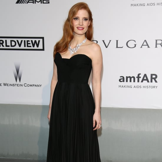 Celebrities at the amfAR Cinema Against AIDS Gala 2014