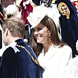 Kate Middleton Pictures at Order of Garter Service 2012