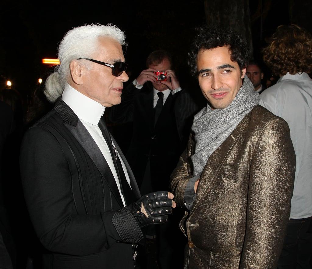 Karl Lagerfeld, Zac Posen.