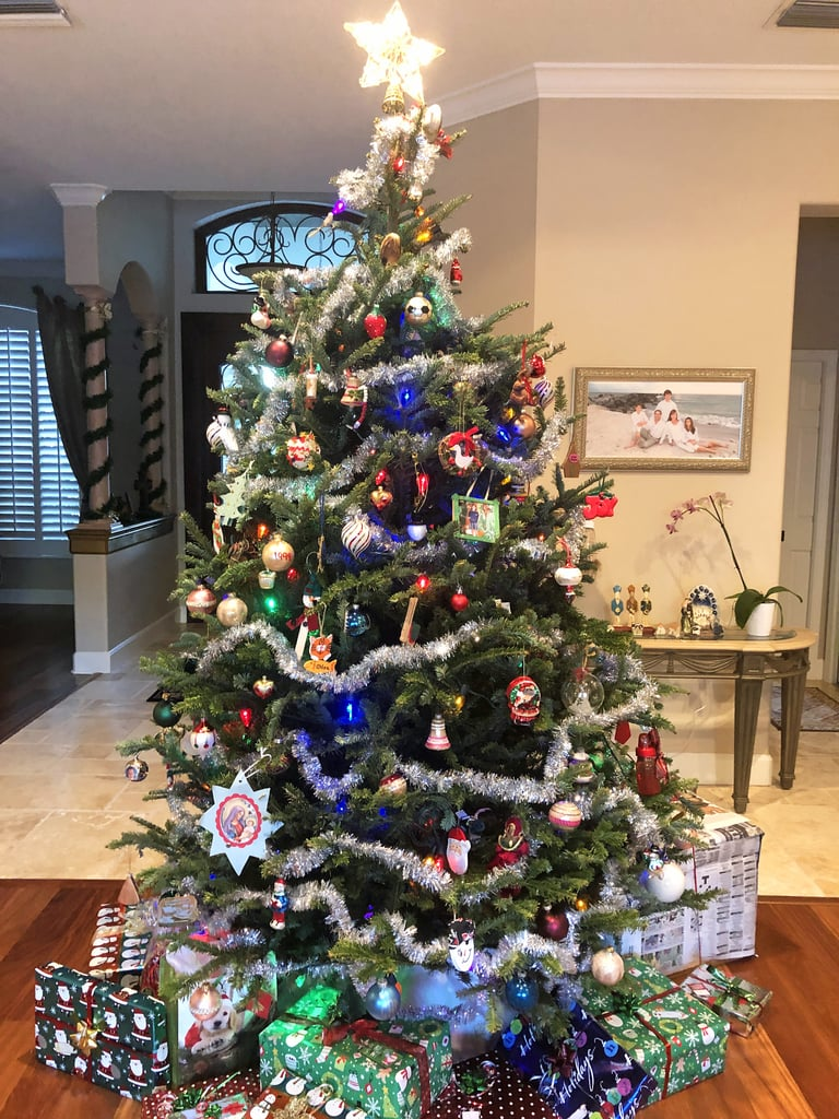 A Full Look at My Family's Gloriously Chaotic Christmas Tree This Year