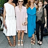Coach's star-studded Summer party brought together Katie Holmes, Naomi Watts, Connie Britton, and Anna Kendrick for a bash on the High Line in NYC.