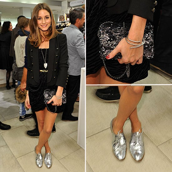 Olivia Palermo Wearing Giambattista Valli For Macys