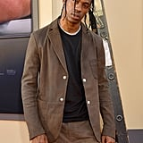 Travis Scott at the Once Upon a Time in Hollywood LA premiere.