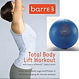 Barre3 DVD and Fitball