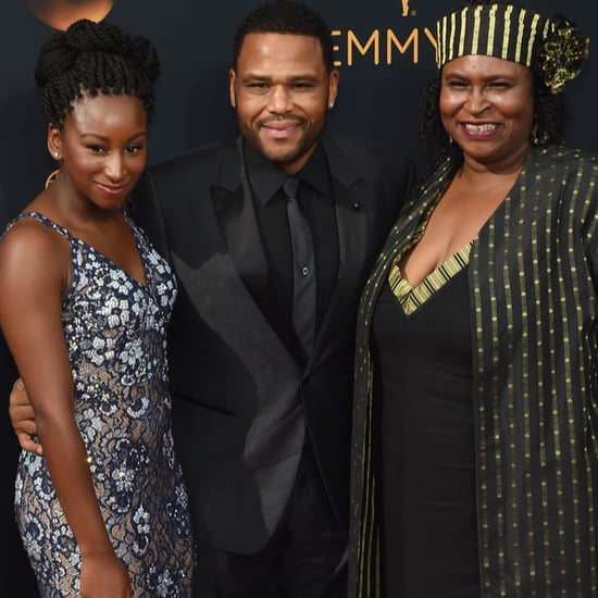Anthony Anderson and His Family at the 2016 Emmys