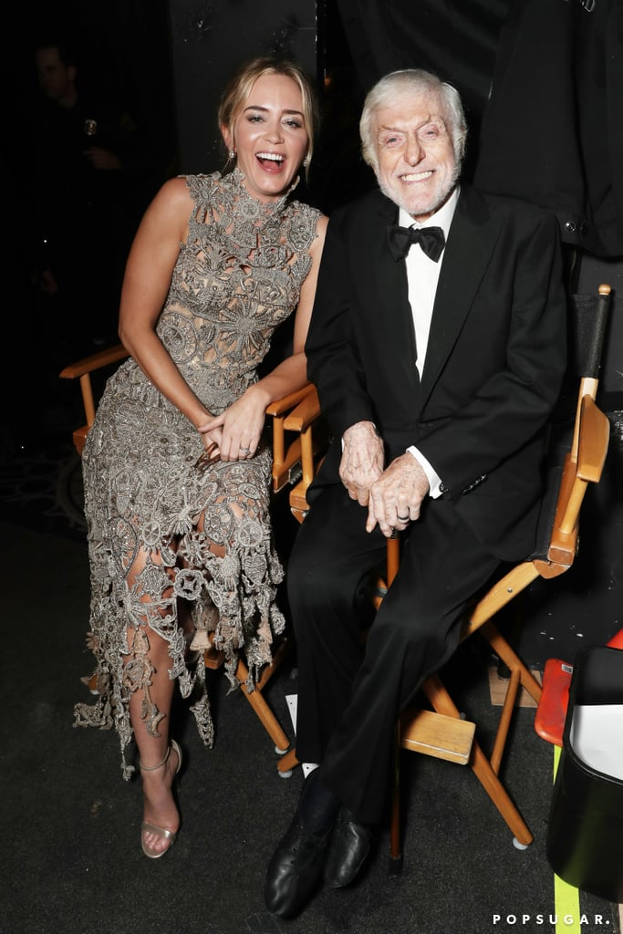 Pictured: Emily Blunt and Dick Van Dyke