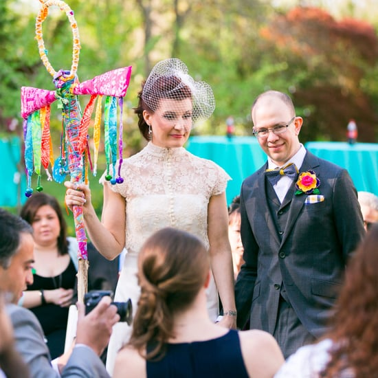 Quirky Quaker Wedding