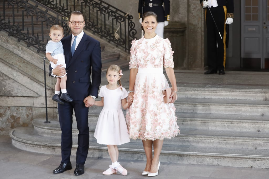 Princess Victoria of Sweden Casually Has Butterflies Fluttering on Her Birthday Dress
