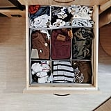 Organizing fewer clothes is great, but with less space, you still have to get inventive.