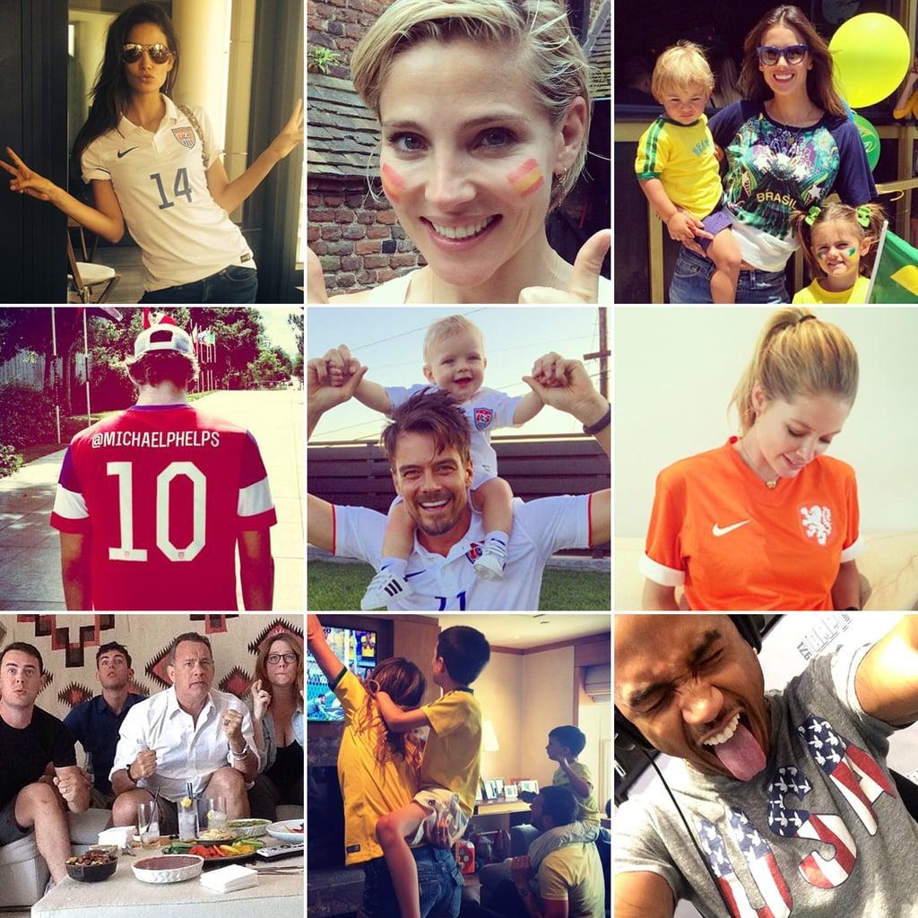 Stars Show Their World Cup Spirit on Social Media!