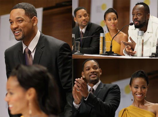 Photos of Will and Jada at the Nobel Peace Prize Concert Press Conference 2009-12-13 13:30:43