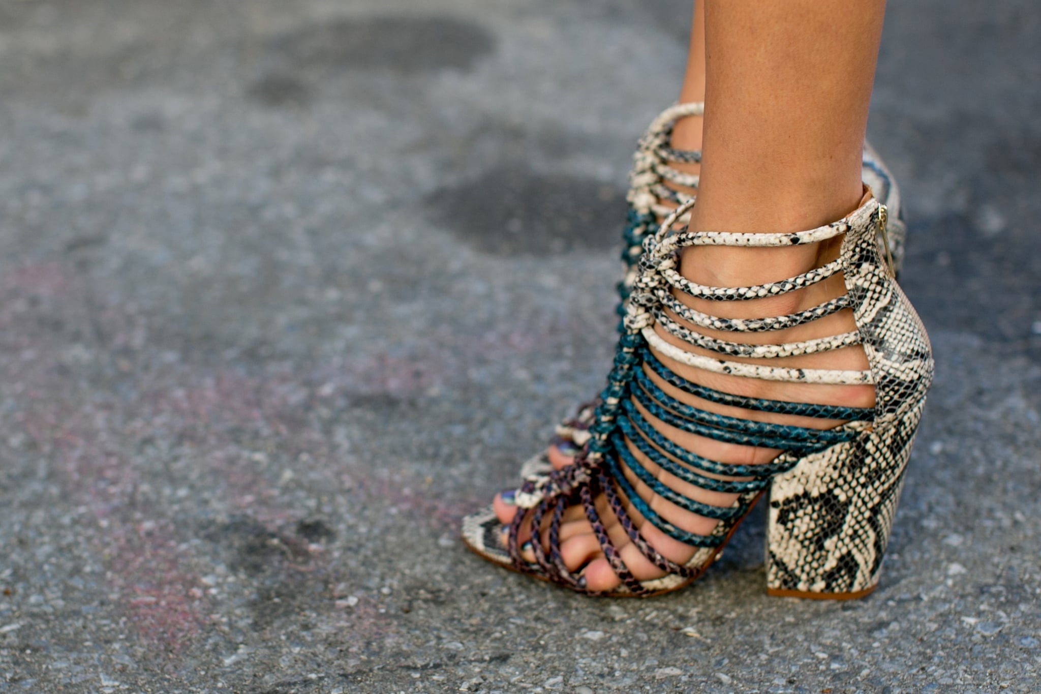 Strap-happy heels.