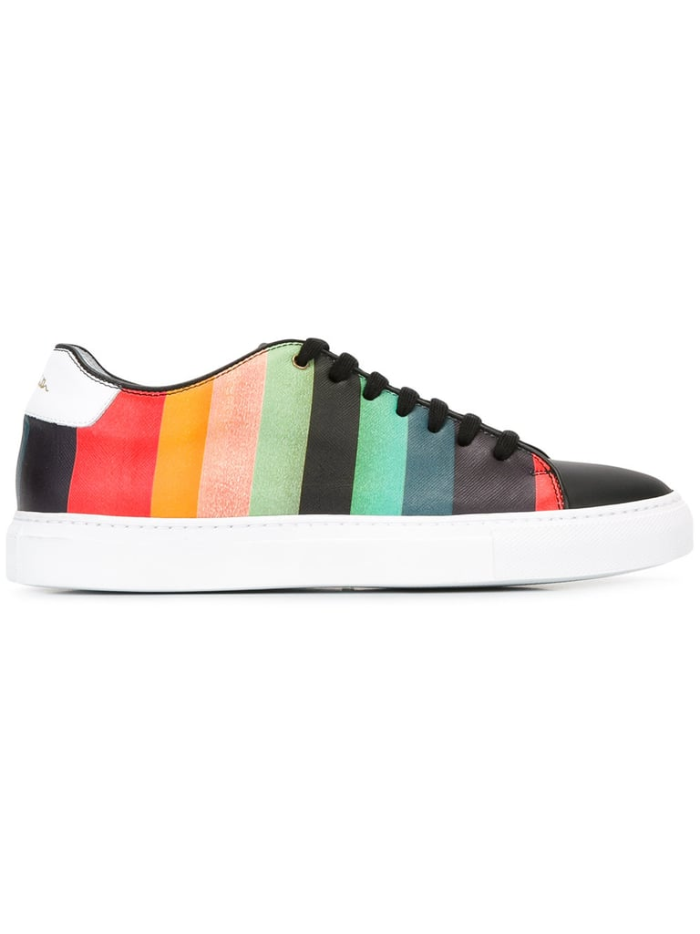 Paul Smith Rainbow Stripe Sneakers