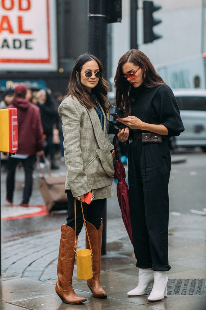 We're obsessed with Anna Vitiello's Western Vetements boots.