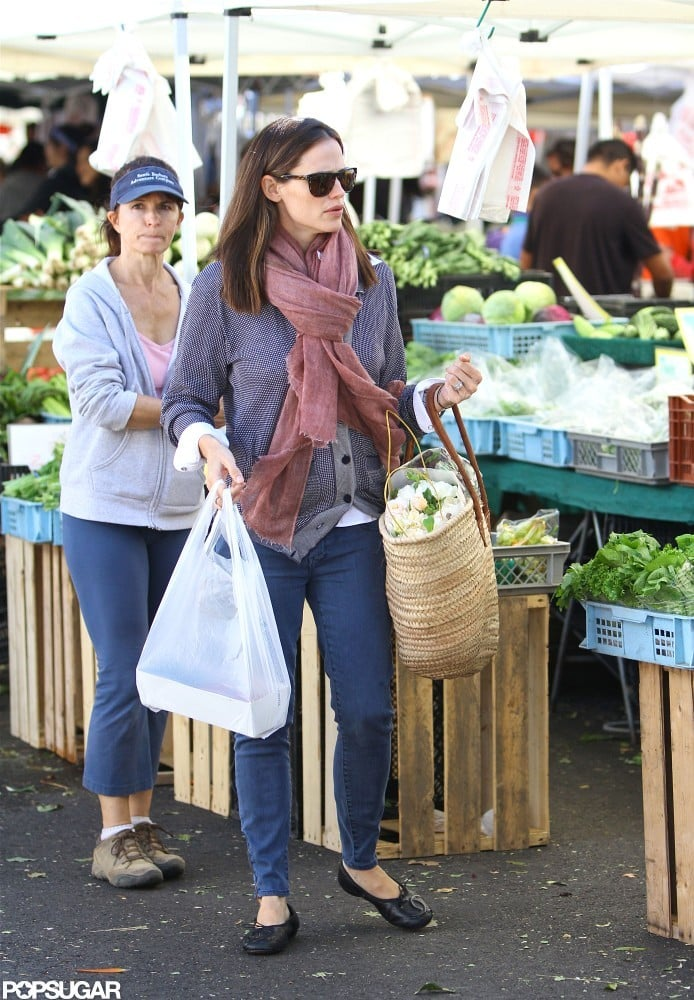 Jennifer Garner stepped out in jeans in LA.