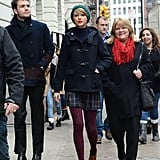 """When he was probably like, """"NYC is so beautiful, Taylor."""""""