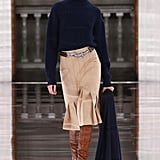Victoria Beckham Fall/Winter 2020: The Clasping Hands Belt Buckle