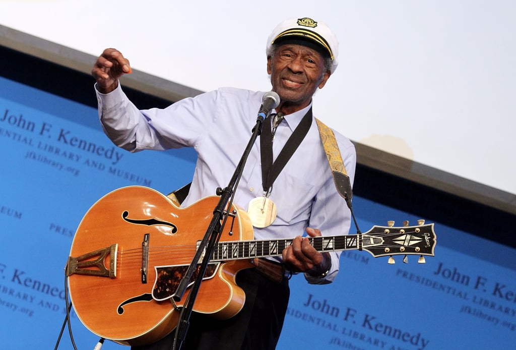 Celebrity Reactions to Chuck Berry's Death