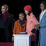 President Obama got in the spirit.