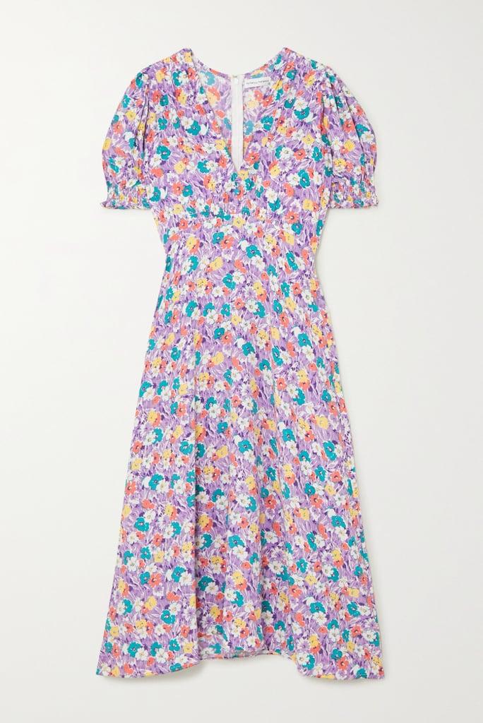 Faithfull The Brand Marie-Louise Floral-Print Midi Dress