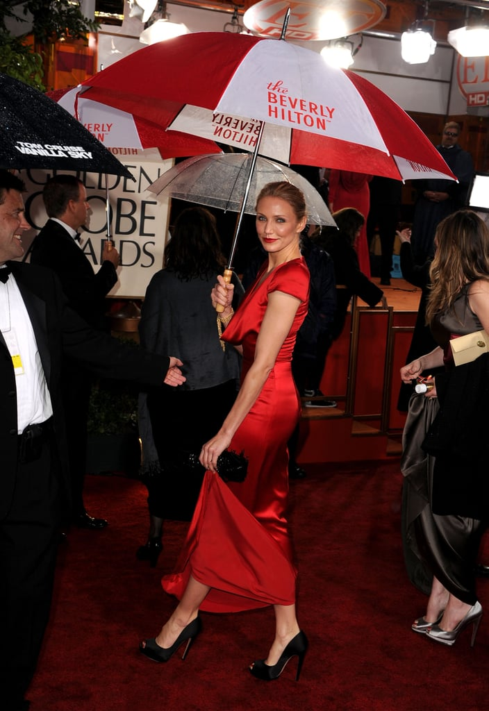 Photos of Cameron Diaz on the Red Carpet at the 2010 Golden Globe Awards