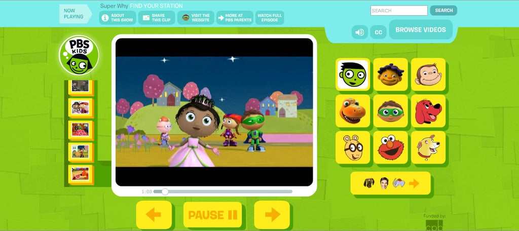 PBS Kids Video (Free) | Streaming Services For Kids | POPSUGAR ...