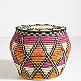 Silas Woven Side Table