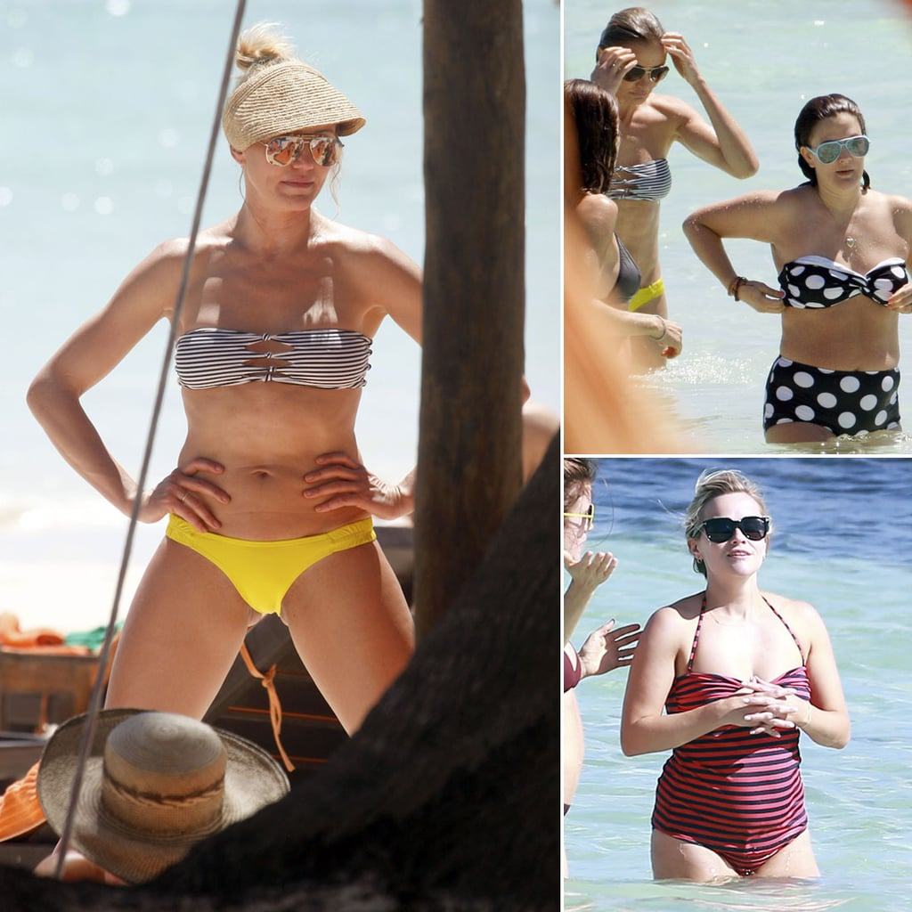 Cameron Diaz, Reese Witherspoon, and Drew Barrymore Vacation