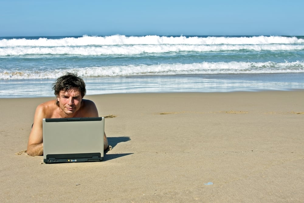 12 Months of Ridiculous Photos of Guys With Laptops in Nature