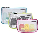 Travelon Assorted Piped Pouches