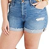 Madewell High Waist Cutoff Denim Shorts